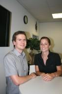 Unsere Märchenerzähler Marcel Swoboda und Julia Bürkel