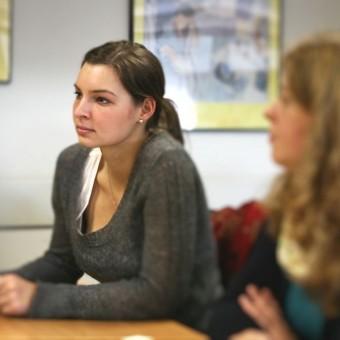 Austausch beim Werkstudententag