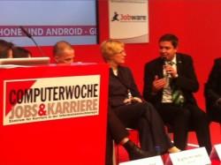 Podiumsdiskussion mit Christian Kaiser zum Thema Arbeitgeberattraktivität