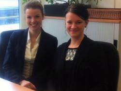 Projektleitung Melanie Serafin und Claudia Eichinger