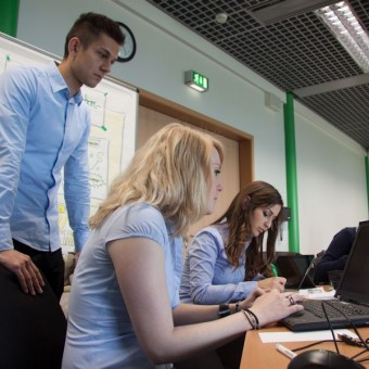 Studenten denken Zukunft - Innovationsworkshop bei DATEV