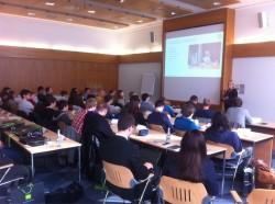 Vortrag von Jutta Rößner zum Thema Softwareentwicklung