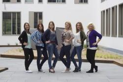 Gruppenfoto Campus
