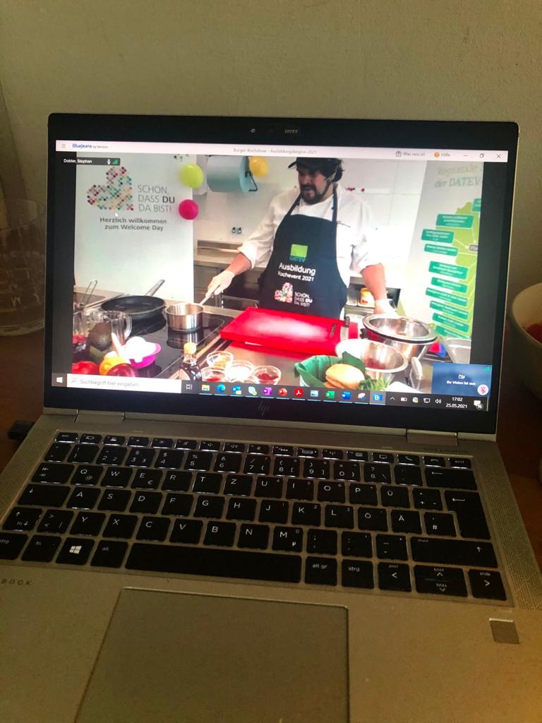 Ein Bild vom Livestream auf dem PC